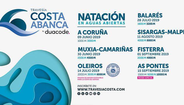 Circuito de Travesías Costa Abanca by Duacode 2019