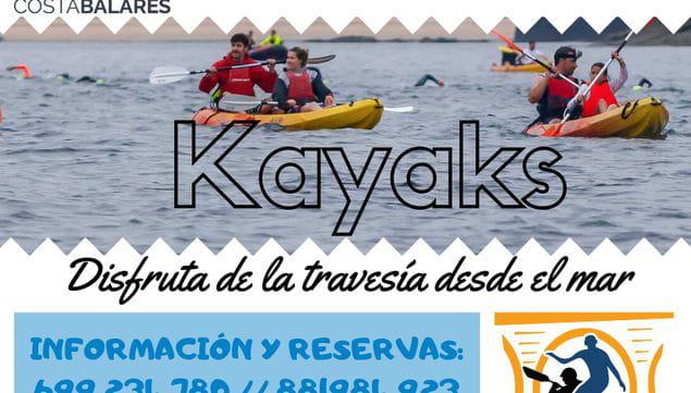Alquiler de kayaks para la Travesía Costa Abanca by Duacode Balarés
