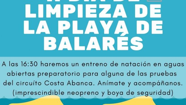 Solidariedad y deporte  en la playa de Balarés